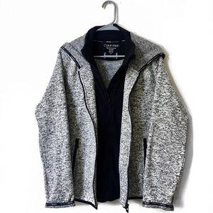 NWOT Calvin Klein Performance Zip Up Hoodie XL